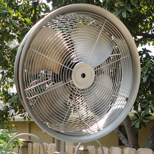 Our Ocean Breeze Fans Are The Top Of Line Outdoor Rated Fan Featuring 3 Sd High Velocity Sealed Motors 120 Degrees Oscillations And